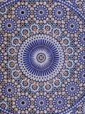 Zellij (Geometric Mosaic Tilework) Adorn Walls  Morocco
