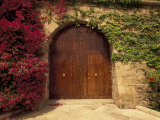Doorway at Consolat de Mar  Palma de Mallorca  Balearics  Spain