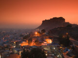 Meherangarh Fort and Town  Rajasthan  India