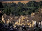 Burford Village  Cotswolds  Gloucestershire  England