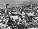 This is a Photo of Seattle During the World&#39;s Fair