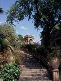 Public Garden of Taormina  Sicily  Italy