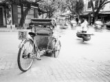 Cyclo in Old Hanoi  Vietnam