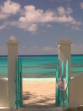 Front Street Gate on Grand Turk Island  Turks and Caicos  Caribbean