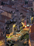 Overview of Rue Faure  Cannes  France