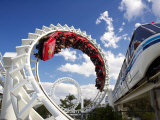 Rollercoaster  Sea World  Gold Coast  Queensland  Australia