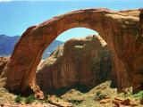 Rainbow Bridge National Monument is a Star Attraction at Lake Powell on the Utah Side