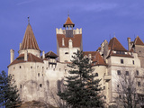 14th Century Bran Castle Detail  Brasov Region  Romania