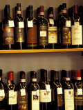 Wine Display  Pienza  Tuscany  Italy