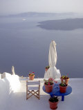 View of Water  Santorini  Greece