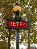 Metro  Paris  France