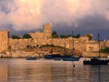 Exterior of Bodrum Castle of the Knights of St John  Bodrum  Turkey