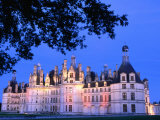 Chateau Chambord in Loire Valley  Chambord  France