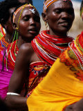 Dancers  El Molo Village  Lake Turkana  Kenya