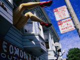 Quirky Shop Front Decoration  Haight Street  the Haight  San Francisco  United States of America