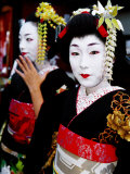 Two Geisha Near Kiyomizu-Dera  Kyoto  Japan