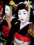 Two Geisha Near Kiyomizu-Dera  Kyoto  Japan