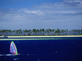 Windsurfer  Plantation Island  Fiji