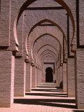 Prayer Hall of the Tin Mal Mosque  Morocco