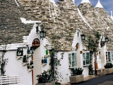 White-Washed Trulli Houses  Alberobello  Italy