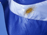 Argentine Flag  Plaza De Mayo  Buenos Aires  Argentina