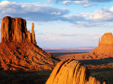 West and East Mitten Buttes  Monument Valley Navajo Tribal Park  USA