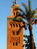 Koutoubia Mosque  Marrakesh  Morocco