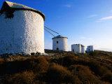 Windmills West of Town  Bodrum  Turkey