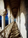 Balcony of Torre De Belem  Lisbon  Portugal