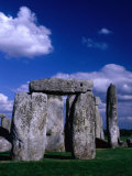 Detail of Stone Circle at Stonehenge  Stonehenge  United Kingdom