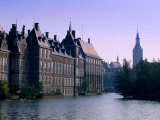 Exterior of the Binnenhof  the Hague  Netherlands