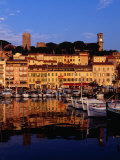 Eglise Notre Dame D&#39;esperance Overlooking the Harbour at Dawn  Cannes  France