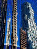 Skyscraper Reflections in Downtown  Los Angeles  United States of America