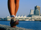 Runners Feet in Motion by Harbour  Vancouver  Canada