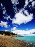 Perito Moreno Glacier and Moreno Hill  Lago Argentino  Los Glaciares National Park  Argentina