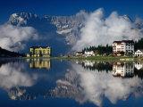 Lago Di Misurina  Gruppo Del Surapis  Dolomites  Dolomiti Bellunesi National Park  Italy