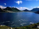 Hout Bay From Chapman's Peak Drive  Cape Peninsula  South Africa