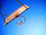 Worn Basketball Hoop  Copenhagen  Denmark