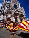 Il Palio Parade  Siena  Italy