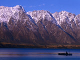 The Remarkables Mountains  Queenstown  New Zealand