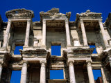 Ruins of Celsus Library  Ephesus  Turkey