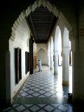 Palais De La Bahia  Marrakesh  Morocco