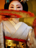 Maiko Dancer  Kyoto  Japan