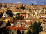 Old Houses and Rooftops  Perugia  Italy