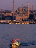 Boat on River  Istanbul  Turkey