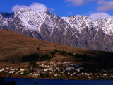 The Remarkables Mountains in Background  Queenstown  New Zealand