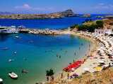 Lindos Beach  Lindos  Greece