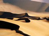 Sand Dunes in Namib Desert National Park  Sossusvlei  Namibia