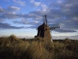 Windmill in Dunes  Kandesterne  Denmark