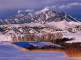 Bridger Mountain Range Near Bozeman  Bozeman  USA